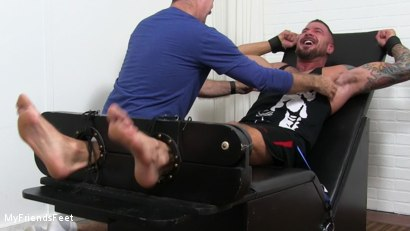 Photo number 7 from Dolf Gets Tickled Naked shot for My Friends Feet on Kink.com. Featuring Dolf Dietrich and Hugh Hunter in hardcore BDSM & Fetish porn.
