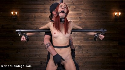 Photo number 2 from Newbie Andi Rye Proves To Be A Squirting Pain Slut shot for Device Bondage on Kink.com. Featuring Andi Rye in hardcore BDSM & Fetish porn.