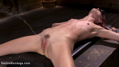 Photo number 15 from Newbie Andi Rye Proves To Be A Squirting Pain Slut shot for Device Bondage on Kink.com. Featuring Andi Rye in hardcore BDSM & Fetish porn.