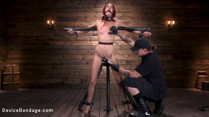 Photo number 6 from Newbie Andi Rye Proves To Be A Squirting Pain Slut shot for Device Bondage on Kink.com. Featuring Andi Rye in hardcore BDSM & Fetish porn.