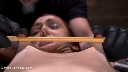Photo number 10 from Newbie Andi Rye Proves To Be A Squirting Pain Slut shot for Device Bondage on Kink.com. Featuring Andi Rye in hardcore BDSM & Fetish porn.