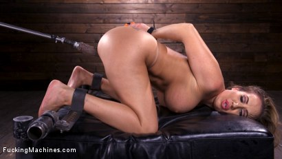 Photo number 7 from Bodacious Curvy Babe is Bound and Fucked with Machines shot for Fucking Machines on Kink.com. Featuring Richelle Ryan in hardcore BDSM & Fetish porn.