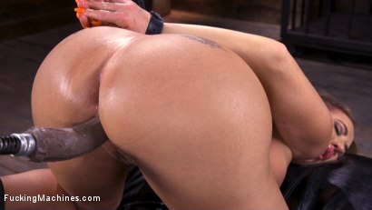 Photo number 8 from Bodacious Curvy Babe is Bound and Fucked with Machines shot for Fucking Machines on Kink.com. Featuring Richelle Ryan in hardcore BDSM & Fetish porn.