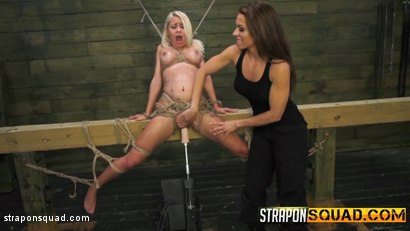 Photo number 1 from Marsha May Loves Rope Bondage & Lesbian Domination with Kylie Rogue shot for Strapon Squad on Kink.com. Featuring Marsha May and Kylie Rogue in hardcore BDSM & Fetish porn.