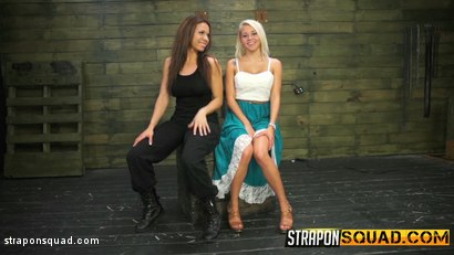 Photo number 2 from Marsha May Loves Rope Bondage & Lesbian Domination with Kylie Rogue shot for Strapon Squad on Kink.com. Featuring Marsha May and Kylie Rogue in hardcore BDSM & Fetish porn.