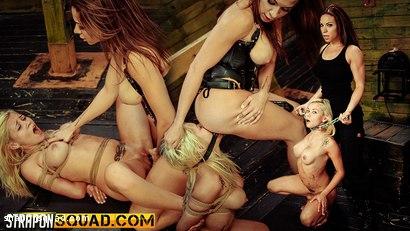 Marsha May Loves Rope Bondage & Lesbian Domination with Kylie Rogue