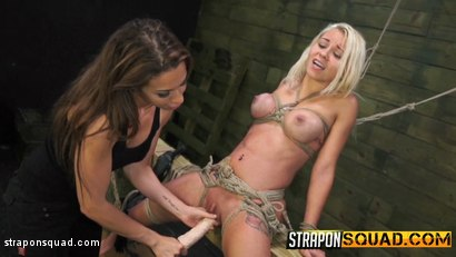 Photo number 6 from Marsha May Loves Rope Bondage & Lesbian Domination with Kylie Rogue shot for Strapon Squad on Kink.com. Featuring Marsha May and Kylie Rogue in hardcore BDSM & Fetish porn.