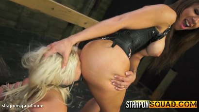 Photo number 10 from Marsha May Loves Rope Bondage & Lesbian Domination with Kylie Rogue shot for Strapon Squad on Kink.com. Featuring Marsha May and Kylie Rogue in hardcore BDSM & Fetish porn.