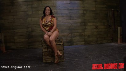 Photo number 2 from Becca Diamond's First Rope Suspension with Plenty of BDSM Sex shot for Sexual Disgrace on Kink.com. Featuring Becca Diamond and Steve Dash in hardcore BDSM & Fetish porn.