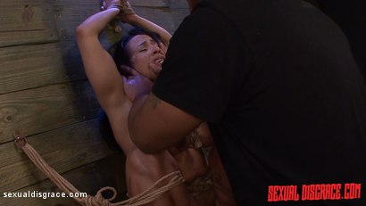 Photo number 15 from Becca Diamond's First Rope Suspension with Plenty of BDSM Sex shot for Sexual Disgrace on Kink.com. Featuring Becca Diamond and Steve Dash in hardcore BDSM & Fetish porn.