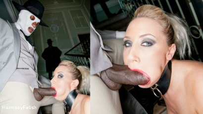Photo number 2 from Blonde gets a Face full of Spunk shot for Harmony Fetish on Kink.com. Featuring Karlie Simon, Omar and Ian Tate in hardcore BDSM & Fetish porn.