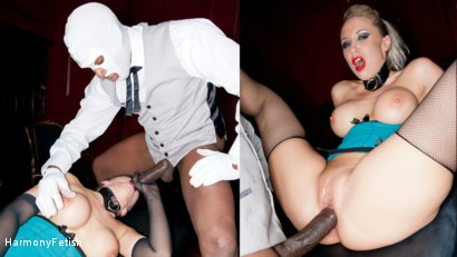 Photo number 3 from Blonde gets a Face full of Spunk shot for Harmony Fetish on Kink.com. Featuring Karlie Simon, Omar and Ian Tate in hardcore BDSM & Fetish porn.