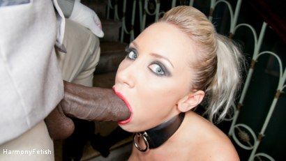 Photo number 9 from Blonde gets a Face full of Spunk shot for Harmony Fetish on Kink.com. Featuring Karlie Simon, Omar and Ian Tate in hardcore BDSM & Fetish porn.