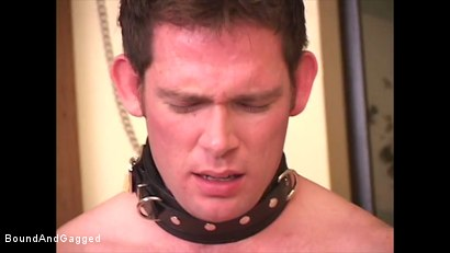 Photo number 8 from Boysitting: Boy Meets Boysitter shot for Bound And Gagged on Kink.com. Featuring Oskar and Sean Patrick in hardcore BDSM & Fetish porn.