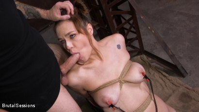 Photo number 4 from Whore Slut Sailor Luna Ass Fucked In Rope Bondage shot for Brutal Sessions on Kink.com. Featuring Tommy Pistol and Sailor Luna in hardcore BDSM & Fetish porn.