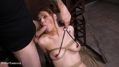 Photo number 6 from Whore Slut Sailor Luna Ass Fucked In Rope Bondage shot for Brutal Sessions on Kink.com. Featuring Tommy Pistol and Sailor Luna in hardcore BDSM & Fetish porn.