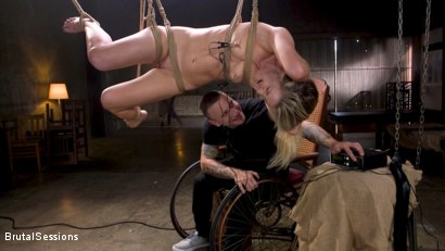 Photo number 1 from Girl Next Door Kate Kennedy Tied in Rope Bondage and Fucked shot for Brutal Sessions on Kink.com. Featuring Mr. Pete and Kate Kennedy in hardcore BDSM & Fetish porn.