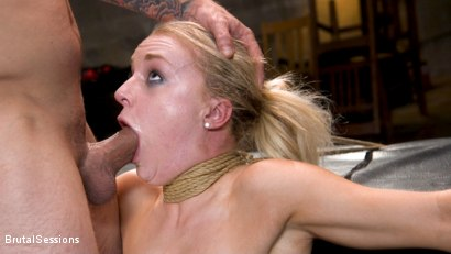 Photo number 11 from Girl Next Door Kate Kennedy Tied in Rope Bondage and Fucked shot for Brutal Sessions on Kink.com. Featuring Mr. Pete and Kate Kennedy in hardcore BDSM & Fetish porn.