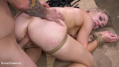 Photo number 32 from Girl Next Door Kate Kennedy Tied in Rope Bondage and Fucked shot for Brutal Sessions on Kink.com. Featuring Mr. Pete and Kate Kennedy in hardcore BDSM & Fetish porn.