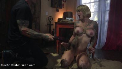 Photo number 2 from Anal Intuition shot for Sex And Submission on Kink.com. Featuring Derrick Pierce and Sammie Six in hardcore BDSM & Fetish porn.