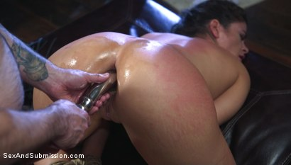 Photo number 12 from  Sexual Interrogation shot for Sex And Submission on Kink.com. Featuring Tommy Pistol and Victoria Voxxx in hardcore BDSM & Fetish porn.