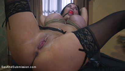 Photo number 13 from Jasmine Jae Learns a Lesson shot for Sex And Submission on Kink.com. Featuring Charles Dera and Jasmine Jae in hardcore BDSM & Fetish porn.