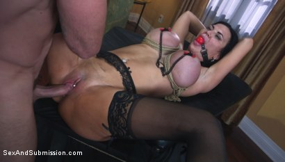 Photo number 15 from Jasmine Jae Learns a Lesson shot for Sex And Submission on Kink.com. Featuring Charles Dera and Jasmine Jae in hardcore BDSM & Fetish porn.