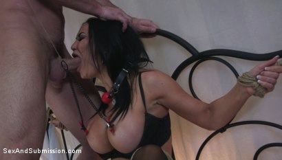 Photo number 4 from Jasmine Jae Learns a Lesson shot for Sex And Submission on Kink.com. Featuring Charles Dera and Jasmine Jae in hardcore BDSM & Fetish porn.