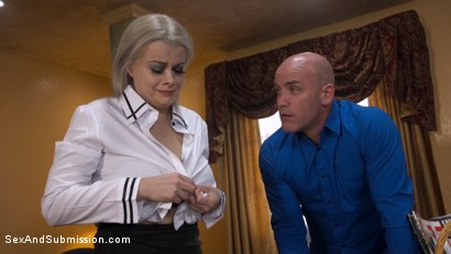 Photo number 14 from Bad Secretary: Newcomer Nadia White gets punished! shot for Sex And Submission on Kink.com. Featuring Derrick Pierce and Nadia White in hardcore BDSM & Fetish porn.