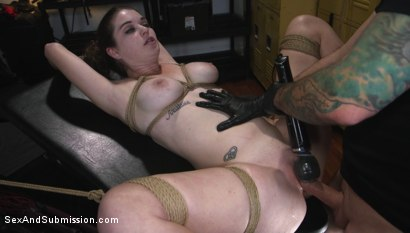Photo number 15 from The Sneaky Slut shot for Sex And Submission on Kink.com. Featuring Tommy Pistol and Anastasia Rose in hardcore BDSM & Fetish porn.