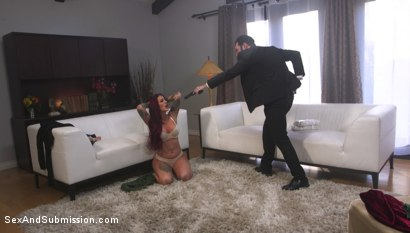 Photo number 2 from The Dirty Cop shot for Sex And Submission on Kink.com. Featuring Tommy Pistol and Tana Lea in hardcore BDSM & Fetish porn.