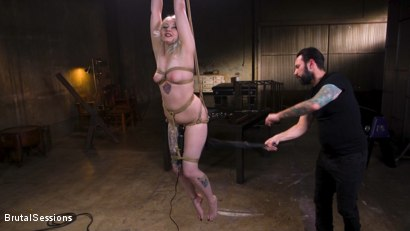 Photo number 2 from Blonde Slut Arielle Aquinas Ass Fucked and Abused like a Punching Bag shot for Brutal Sessions on Kink.com. Featuring Arielle Aquinas and Tommy Pistol in hardcore BDSM & Fetish porn.