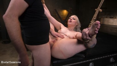 Photo number 27 from Blonde Slut Arielle Aquinas Ass Fucked and Abused like a Punching Bag shot for Brutal Sessions on Kink.com. Featuring Arielle Aquinas and Tommy Pistol in hardcore BDSM & Fetish porn.