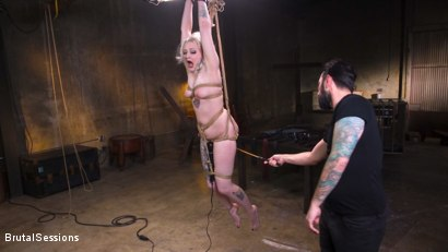 Photo number 5 from Blonde Slut Arielle Aquinas Ass Fucked and Abused like a Punching Bag shot for Brutal Sessions on Kink.com. Featuring Arielle Aquinas and Tommy Pistol in hardcore BDSM & Fetish porn.