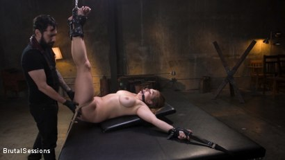Photo number 2 from Curvy Squirt Goddess Skylar Snow Rough Anal And Rope Bondage Fuck shot for Brutal Sessions on Kink.com. Featuring Tommy Pistol and Skylar Snow in hardcore BDSM & Fetish porn.