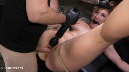 Photo number 14 from Curvy Squirt Goddess Skylar Snow Rough Anal And Rope Bondage Fuck shot for Brutal Sessions on Kink.com. Featuring Tommy Pistol and Skylar Snow in hardcore BDSM & Fetish porn.