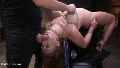 Photo number 18 from Curvy Squirt Goddess Skylar Snow Rough Anal And Rope Bondage Fuck shot for Brutal Sessions on Kink.com. Featuring Tommy Pistol and Skylar Snow in hardcore BDSM & Fetish porn.