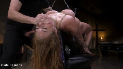 Photo number 22 from Curvy Squirt Goddess Skylar Snow Rough Anal And Rope Bondage Fuck shot for Brutal Sessions on Kink.com. Featuring Tommy Pistol and Skylar Snow in hardcore BDSM & Fetish porn.