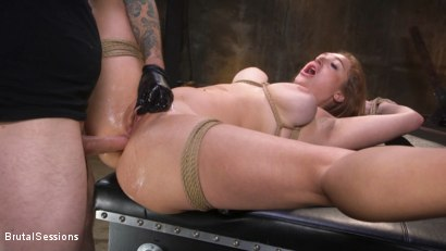 Photo number 34 from Curvy Squirt Goddess Skylar Snow Rough Anal And Rope Bondage Fuck shot for Brutal Sessions on Kink.com. Featuring Tommy Pistol and Skylar Snow in hardcore BDSM & Fetish porn.