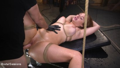 Photo number 37 from Curvy Squirt Goddess Skylar Snow Rough Anal And Rope Bondage Fuck shot for Brutal Sessions on Kink.com. Featuring Tommy Pistol and Skylar Snow in hardcore BDSM & Fetish porn.