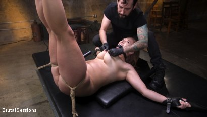 Photo number 10 from Curvy Squirt Goddess Skylar Snow Rough Anal And Rope Bondage Fuck shot for Brutal Sessions on Kink.com. Featuring Tommy Pistol and Skylar Snow in hardcore BDSM & Fetish porn.