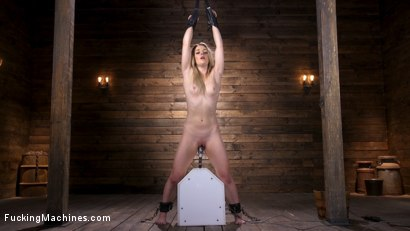 Photo number 8 from Brand New Blonde in Bondage and Machine Fucked shot for Fucking Machines on Kink.com. Featuring Kate Kennedy in hardcore BDSM & Fetish porn.