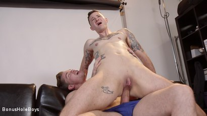 Photo number 8 from The Voyeur: Pervy FTM Photographer Takes Huge Cock shot for Bonus Hole Boys on Kink.com. Featuring Lucas Knight and Cyd St. Vincent in hardcore BDSM & Fetish porn.