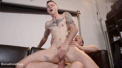 Photo number 10 from The Voyeur: Pervy FTM Photographer Takes Huge Cock shot for Bonus Hole Boys on Kink.com. Featuring Lucas Knight and Cyd St. Vincent in hardcore BDSM & Fetish porn.