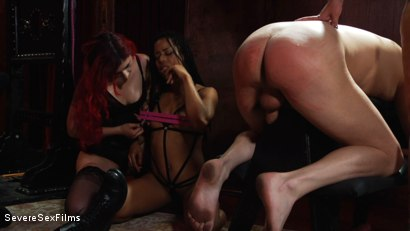 Photo Number 16 From Satanic Femdom Orgy Shot For Severe Sex Films On Kink Com