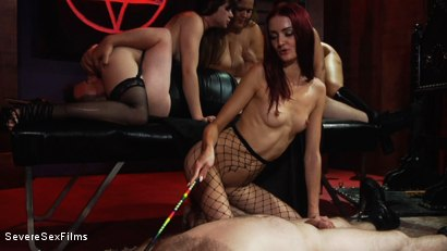 Photo Number 19 From Satanic Femdom Orgy Shot For Severe Sex Films On Kink Com