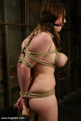 Photo number 3 from Sara Scott shot for Hogtied on Kink.com. Featuring Sara Scott in hardcore BDSM & Fetish porn.