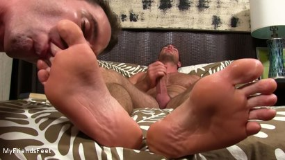 Photo number 17 from Alex Mecum Foot Serviced By Cameron Kincade shot for My Friends Feet on Kink.com. Featuring Alex Mecum and Cameron Kincade in hardcore BDSM & Fetish porn.
