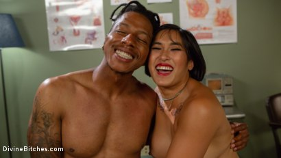 Photo number 15 from Doctor's Orders: Medical Mistress Mia Little Dominates New Patient shot for Divine Bitches on Kink.com. Featuring Mia Little and Styx in hardcore BDSM & Fetish porn.