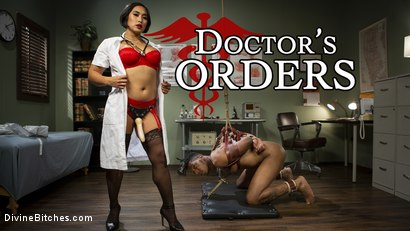 Doctor's Orders: Medical Mistress Mia Little Dominates New Patient